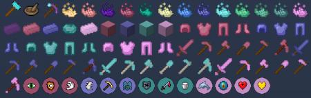 Скачать Vanilla Plus: Powder Power для Minecraft 1.16.4
