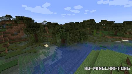 Скриншот из Minecraft 1.16.5