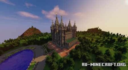 Скачать Salt Lake City Temple для Minecraft
