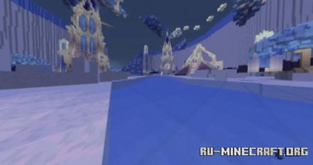Скачать Winter PvP Map для Minecraft