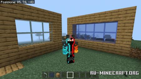 Скачать Clear Glass by Dark_Create для Minecraft PE 1.16