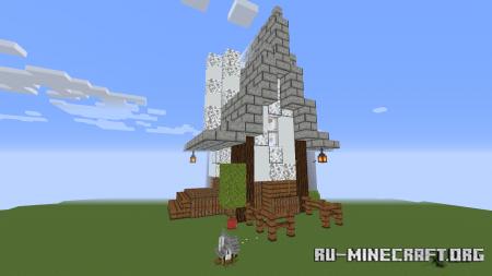 Скачать Jumbo House Parkour для Minecraft