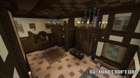 Скачать Green Land Estate Mansion By Teddy_Bubby для Minecraft PE