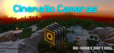 Скачать Cinematic Cameras для Minecraft PE 1.16