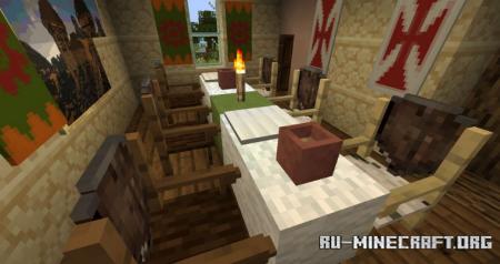 Скачать Iron Age Furniture для Minecraft 1.16.5