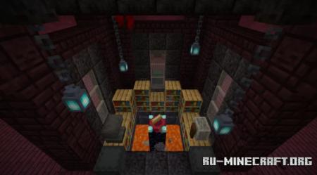Скачать Quad XP Farm: Double Blaze для Minecraft