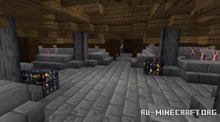 Скачать Castle Maze (3 levels) для Minecraft