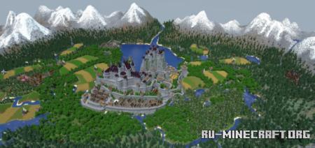 Скачать Snowcoal's Medieval Kingdom для Minecraft PE