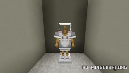 Скачать Sweet Maid Outfit для Minecraft PE 1.16