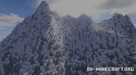 Скачать Tinded Mountains - Awesome Landscape для Minecraft