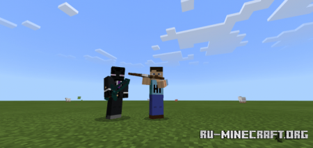 Скачать See-through and More для Minecraft PE 1.16
