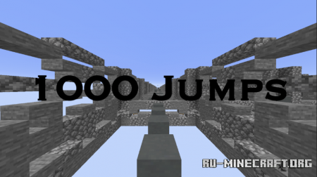 Скачать 1000 Jumps by Ghostking1 для Minecraft