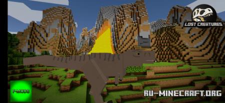 Скачать Lost Creatures для Minecraft PE 1.16
