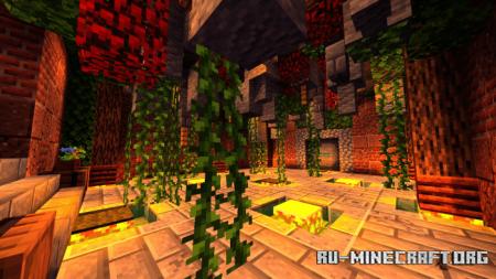 Скачать PXD Shader для Minecraft PE 1.16