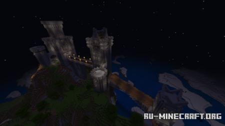 Скачать Mountain Castle by solarzod для Minecraft PE