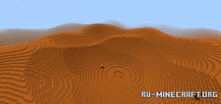 Скачать Mars Terrain для Minecraft PE