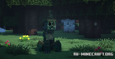 Скачать Overgrowth [32x] для Minecraft 1.16