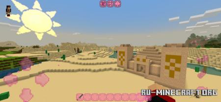 Скачать Kawaii World [32x32] для Minecraft PE 1.16