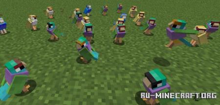 Скачать Exotic Birds для Minecraft 1.16.5