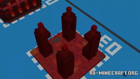 Скачать Hell Maze Made by Pastel Paw для Minecraft