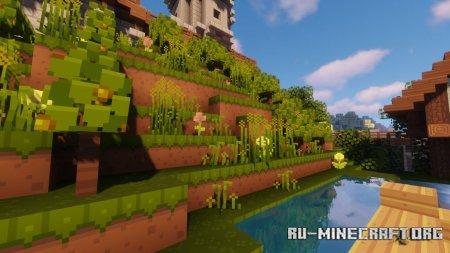 Скачать Dandelion X [16x16] для Minecraft 1.15