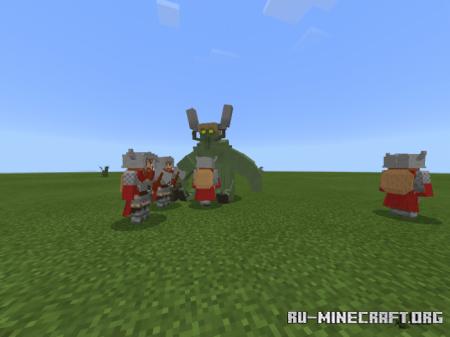 Скачать Bedrock Fantasy для Minecraft PE 1.16