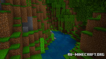 Скачать Fishy's HDR Color Pack для Minecraft PE 1.16