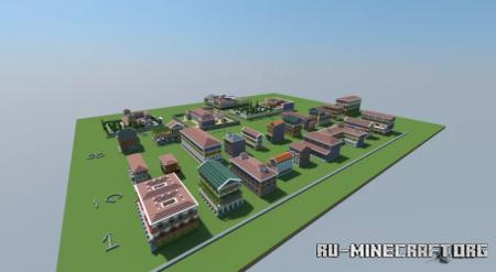 Скачать Byzantine House Pack для Minecraft