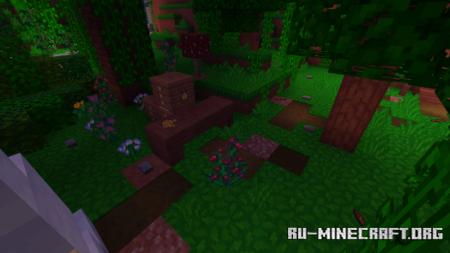 Скачать Mushroom House, In Jungle для Minecraft PE