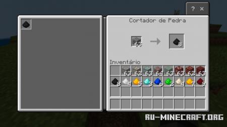 Скачать Duplication Ores для Minecraft PE 1.16