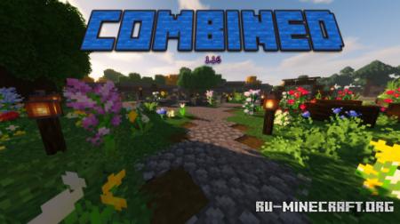 Скачать Combined - by Jacemon для Minecraft 1.16