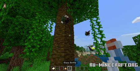 Скачать bum Fireflies для Minecraft PE 1.16
