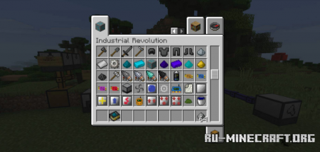 Скачать Industrial Revolution для Minecraft 1.16.5