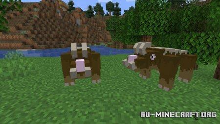 Скачать Lee's Creatures для Minecraft 1.16.5