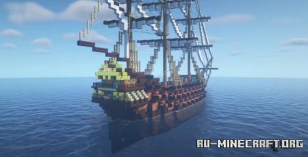 Скачать Phoenix (Pirate Ship) для Minecraft