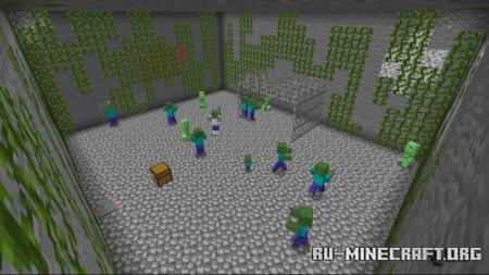 Скачать Deep Metro Adventure для Minecraft PE