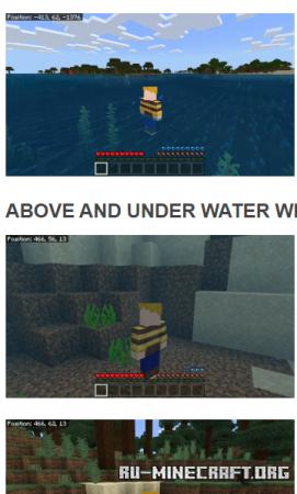 Скачать Water Man для Minecraft PE 1.16