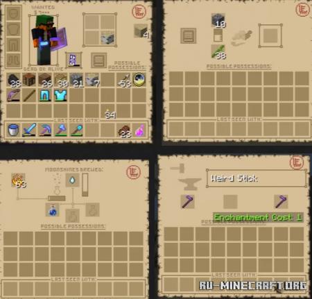 Скачать Wild West GUI для Minecraft 1.16