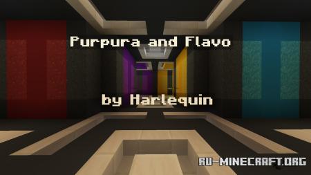 Скачать Purpura and Flavo для Minecraft