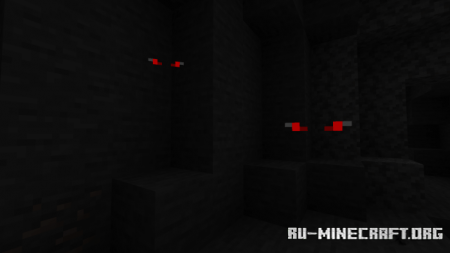 Скачать Eyes In The Dark для Minecraft PE 1.16