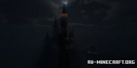 Скачать Gothic Castle by DarkMatter_Builds для Minecraft