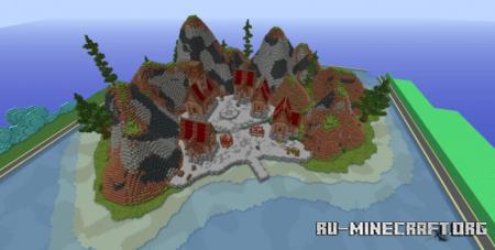 Скачать Island Lobby by SirDrake2 для Minecraft