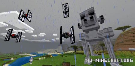 Скачать Star Wars (First Order) для Minecraft PE 1.16