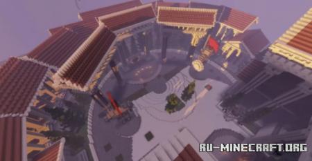 Скачать Lobby - Hub Medieval Theme by User3455220G для Minecraft