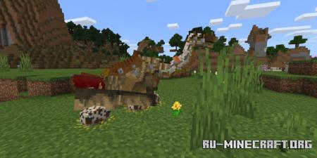 Скачать Dinosaurs of Kem Kem для Minecraft PE 1.16