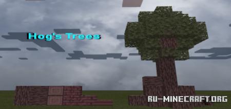 Скачать Hog's Trees для Minecraft PE 1.16