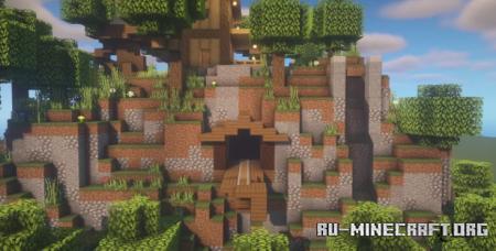 Скачать Mountain Design by DarkIgnite для Minecraft
