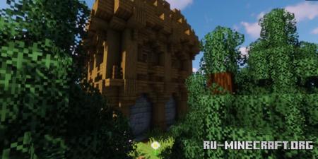 Скачать Typical Medieval House для Minecraft