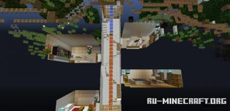 Скачать Modern Underground House by xXRayGunXx для Minecraft