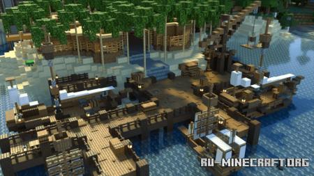 Скачать Defined PBR – An RTX для Minecraft PE 1.16